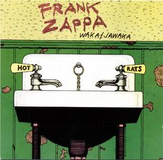 Frank Zappa Album Cover