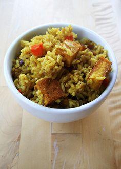 Jamaican cook-up rice #vegan #vegetarian