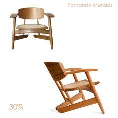 Poltrona Santos Dumont Designer: Fernando Mendes Material: Estrutura em Peroba Mica e Palinha Natural Dimensões: 70 X 62 x 64 h 30% de desconto!