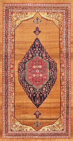 Antique Persian Bidjar Carpet 47372 Main Image - By Nazmiyal