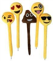 Plush Emoji Pen 24 Pack