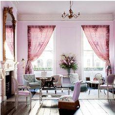 Gorgeous Parisian, Marie Antoinette-esque inspired room.