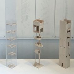 Analysis of John Hejduk's Venice Towers by L. Figallo and M. Fabregas