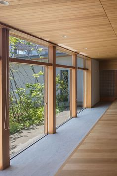 3d House Plans, Japanese Interior, Wood Ceilings, Future House, Takachiho, Entrance, Minimalism, Exterior, Patio
