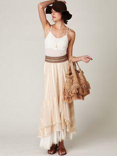 Free People Moonbeam Maxi Skirt, 0.00