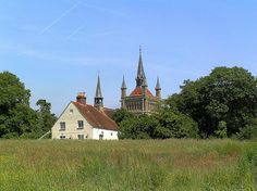 Whippingham Church on our walk from Newport to Cowes along the Medina Estuary. Ile De Wight, Olympus, Family History, Newport, Trekking, English, Island, Adventure, House Styles