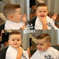 Porque estilo começa desde cedo! #SeuEliasKids Corte by Raphael Barber. #seuelias #barbershop #clientelamirim