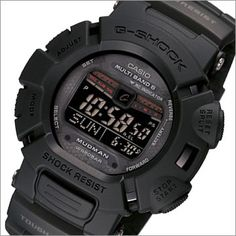 Black Watches, Men's Watches, Watches For Men, Casio G-shock, Casio Watch, Casio G Shock Mudman, G Shock Gulfman, G Shock Limited, Awesome Watches