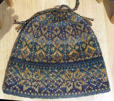 Ravelry: PatsKnitting's Handspun Cross-Country Ski Hat