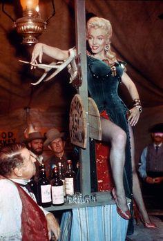 "* m. Marilyn, ""River Of No Return"" 1954"