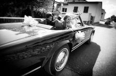Gorgeous Black and White Wedding Photograph