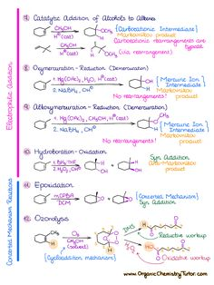 Organic Chemistry Tutor, Chemistry Basics, Organic Chemistry Reactions, Chemistry Textbook, Chemistry Classroom, Chemistry Lessons, Teaching Chemistry, Biology Lessons, Chemistry Experiments