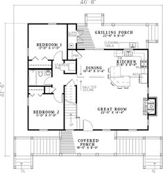 Architecture Design Of Small House two bedroom house plans inspiration for the small house
