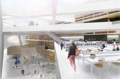 Helsinki Central Library Competition Entry . WOW is all I can say. Nicely done in Helsinki.