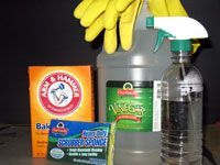 How to Clean Mildew without bleach. i am glad i found this i was going to tackle that project with bleach. unfortunately the previous owner of our new house wasnt exactly mr clean...