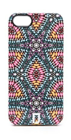 Realling wanting this Dannijo kaleidoscope iPhone case