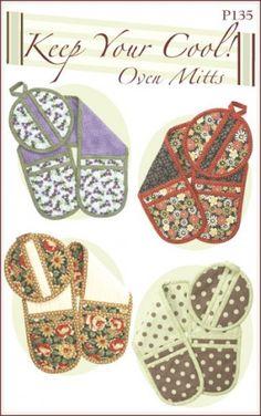 Christmas / Birthday idea? Double oven mitt pattern