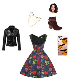 """""""halloween #!"""" by pennie-24601 on Polyvore featuring BP. and Casetify"""