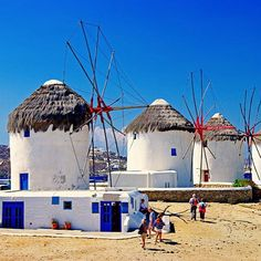 Mykonos is a popular tourist destination in the Greek islands of the Cyclades group, situated in the middle of the Aegean Sea. Mykonos is located. Mykonos Hotels, Mykonos Town, Santorini, Greece Destinations, Greece Tours, Greece Trip, Greece Vacation, Greece Travel, Holiday Destinations