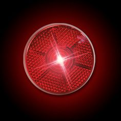 Red Mini Flashing Strobe