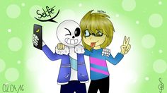Yes! I'm Polish! This is my first picture of amazing game Undertale and my favourite POLISH YouTuber Eleven! Enjoy :333