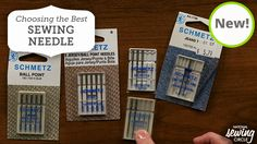 Sewing Tutorial: There are so many different types of needles. Which sewing machine needle is best for me? Find out by clicking on this video. http://www.nationalsewingcircle.com/video/choosing-the-right-sewing-machine-needles-007539/?utm_source=pinterest&utm_medium=organic&utm_campaign=A220 #LetsSew