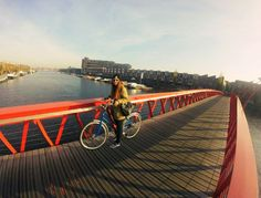 Exploring Amsterdam with my bike! #amsterdam #netherlands #gopro #sunshine
