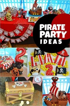 boy pirate birthday party ideas www.spaceshipsandlaserbeams.com