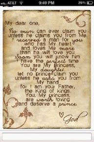 You are my Princess -- GOD, posted by Project Inspired Girl Angelina. #faith #GodIncidence #God