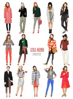 style agenda - j.crew sweaters, coats etc. how to cute AND warm