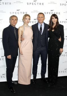 Photos : Spectre : Léa Seydoux Et Monica Bellucci Illuminent Paris !