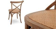 2 x Rochelle, chaises, chêne | made.com
