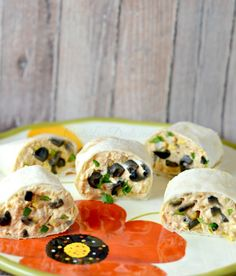 Fiesta Chicken Pinwheels recipe!