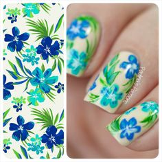 Floral-Pattern-Nails-Paulina's-Passions