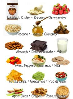 Healty foods that tastes great together