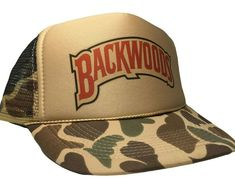 Vintage Backwoods Hat Trucker Mesh cap 80s Snap Back camouflage Smoke cigar cap  #Unbranded #TruckerHat #Casual Nascar Hats, Mesh Cap, Trucker Hats, Sharp Dressed Man, Snap Backs, Dad Hats, Cigar, Baseball Cap, Camouflage