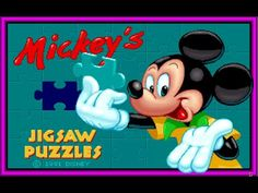 Mickey and Friends - Mickey's Jigsaw Puzzles - Mickey Mouse Games