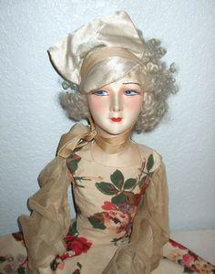 French Gerbs Boudoir Doll