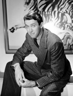 Vertigo was on TV last night. It reminded me how much I'm in love with Jimmy Stewart.