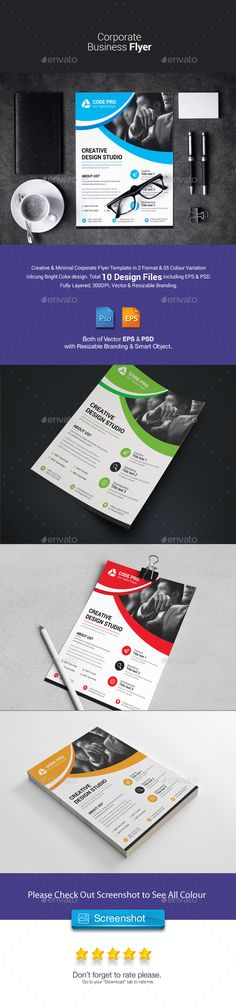 Flyer Samples Templates Corporate Flyer  Flyer Template Business Flyer Templates And Text .