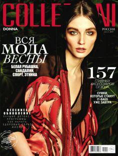 Gucci Cover - Collezioni Russia, April 2014