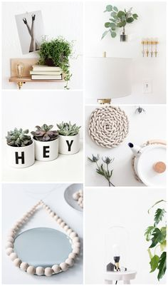 scandinavian inspired home DIY projects