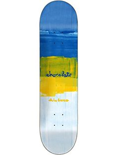 """Chocolate Chico Brenes Subtle Square Skateboard Deck - 8"""" x 31.63"""" ❤ Chocolate"""