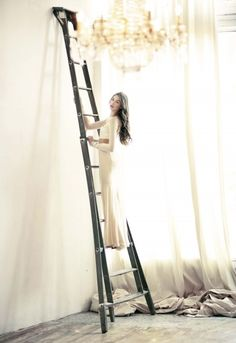 Image result for ladder fashion photography