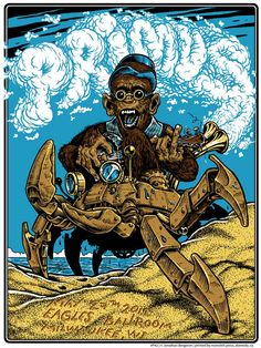 Primus Poster Series - Milwaukee by Jonathan Bergeron