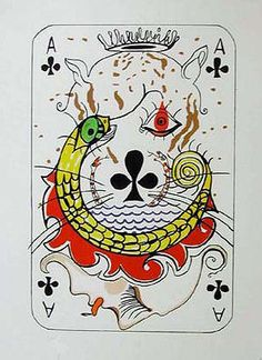 Salvador Dali, Ace of Clubs