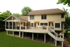 Screen Porch and Deck Columbia, Maryland by Decks In Maryland, via Flickr