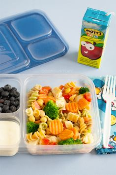 New school lunch ideas: A frozen pasta salad that is versatile and can be turned into a soup or baked pasta for lunch or dinner from www.cookthestory.com