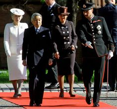 Empress Michiko and Queen Sonja, May 11, 2005