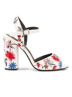 67a0ebff18e7cf Embroidered Sandals at Miss Selfridge Your Shoes